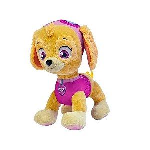 Boneco Pelúcia Patrulha Canina Skye Sunny