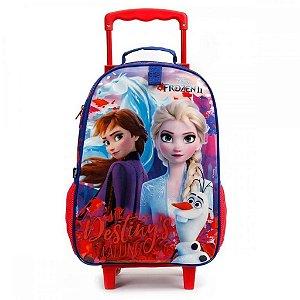 Mochila De Rodinha Frozen 2 Disney Infantil Dermiwil 37383