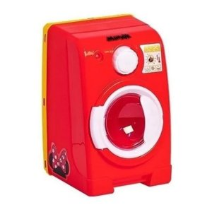 Brinquedo Máquina de Lavar Infantil Minnie Disney Som e Luz