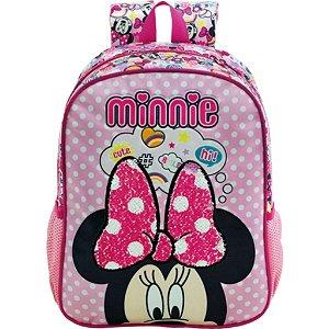 Mochila De Costas G Minnie Magic Bow Infantil  Xeryus 8932