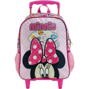 Mochila De Rodinhas G Minnie Mouse Magic Bow Xeryus  8930