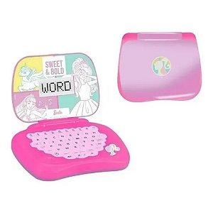Laptop De Atividades Bilíngue Infantil Barbie Candide
