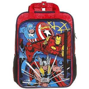 Mochila De Costas M Infantil Marvel Comics Vingadores - Dmw