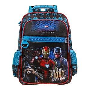 Mochila De Costas Avengers Vingadores Escolar Dmw 11631