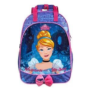 Mochila De Costas Cinderela Princesa Infantil Dmw 37350