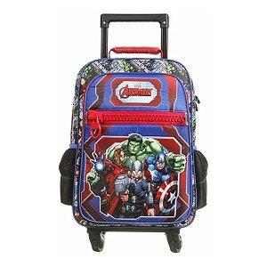 Mochila De Rodinhas 360º Avengers Vingadores Dmw 11607