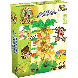 Jogo Macaco No Galho Brinquedo Não Deixe O Macaco Cair Pula