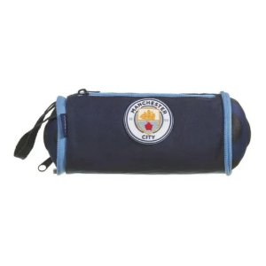 Estojo Escolar Bola Soft Manchester City Dmw 11668