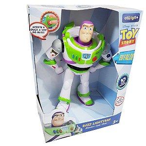 Novo Boneco Buzz Lightyear Com Som Toy Story 4