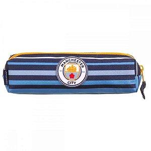 Estojo Soft Escolar Manchester City Dermiwil 11670