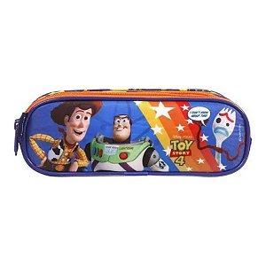 Estojo Escolar Soft 3 Divisões Toy Story 4 Dmw 37267