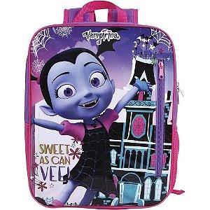Mochila De Costas Escolar Vampirina Infantil Dmw 52202
