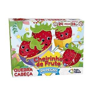 Jogo Quebra Cabeça Cheirinho De Fruta 24Peças Pais & Filhos
