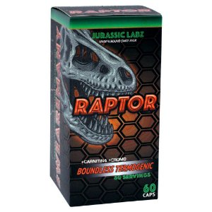 Raptor ( 60 Tabs - Termogênico ) Jurassic Labz