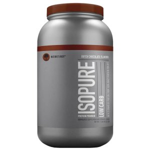 Isopure Low carb (1.360G - Dutch Chocolate Flavor) Natures Best
