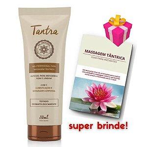 Tantra Gel Profissional para Massagem Tântrica Yoni e Lingam 220 ml + brinde