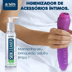 SexCleaner Saneante e Higienizador de acessórios íntimos 100ml