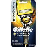 Aparelho de Raspar a cabeça e Barbear 5 Lâminas Gillette Fusion Proshield
