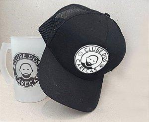 KIT Boné e Caneca de Chopp personalizada Clube dos Carecas