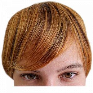 Franja Postiça / Aplique Loiro Médio Ombré Hair 15 cm