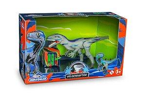 Dinossauro Velociraptor Com som Adijomar