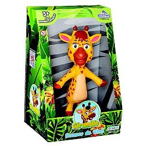 Boneca Girafa Giramille - Turma Da Giramille - Adijomar