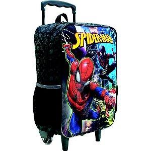 Mochila/Mala com Rodas 16 Spider Man - Xeryus