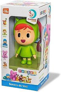 Boneca Nina de Vinil - Cardoso Toys