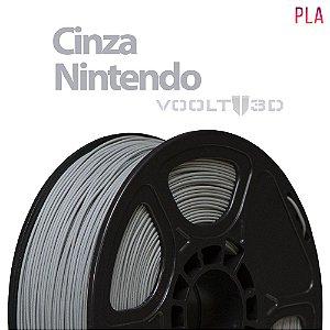 FILAMENTO IMPRESSÃO 3D VOOLT PLA CINZA 1KG