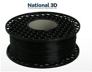 FILAMENTO IMPRESSÃO 3D NATIONAL PLA MAX PRETO 1KG