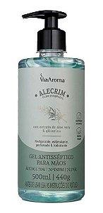 Álcool Gel Alecrim 500ml - Via Aroma