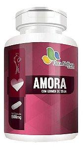Amora E Gérmen De Soja 90 Cápsulas 500mg - Flora Nativa