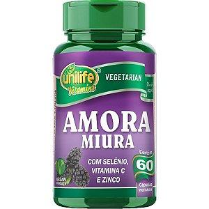 Amora Miúra 500mg Com 60 Cápsulas - Unilife