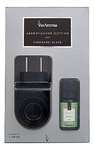 Aromatizador Standard Black Essência Bamboo - Via Aroma