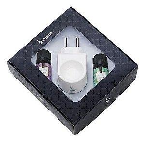 Aromatizador Elétrico Plástico E 2 Essências - Via Aroma