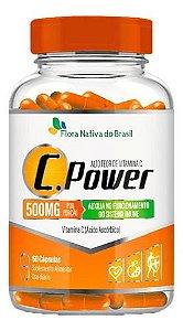 Vitamina C Power 600mg 60 Cápsulas - Flora Nativa