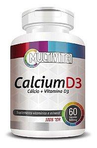 Cálcio E Vitamina D3 500mg 60 Cápsulas - Flora Nativa