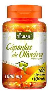 Cápsulas De Oliveira 1000mg 110 Cápsulas - Tiaraju