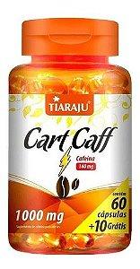 Cart Caff 1000mg 70 Cápsulas Tiaraju