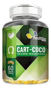 Cártamo E Coco 1000mg 90 Cápsulas - Flora Nativa