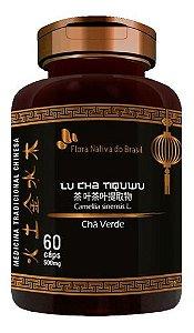 Chá Verde 500mg 60 Cápsulas - Flora Nativa