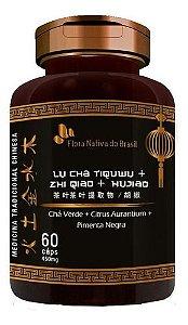 Chá Verde Citrus E Pimenta Negra 60 Cápsulas - Flora Nativa