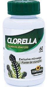 Clorella 530mg 60 Cápsulas - Sunflower