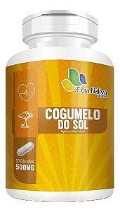Cogumelo Do Sol 500mg 90 Cápsulas - Flora Nativa