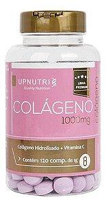 Colágeno Hidrolisado 1000mg 120 Comprimidos - Upnutri
