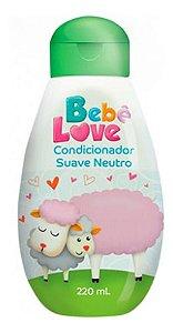 Condicionador Bebê Love Suave Neutro 220ml - Nutriex