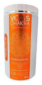 Creme Para Massagem Chakra Estimulante 1kg - Vedis