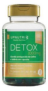 Detox Clorella E Selênio 1,4g 60 Capsulas - Upnutri