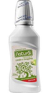 Enxaguante Bucal Limão E Gengibre 250ml - Natural