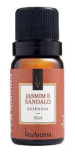 Essência Jasmim E Sandalo 10ml - Via Aroma